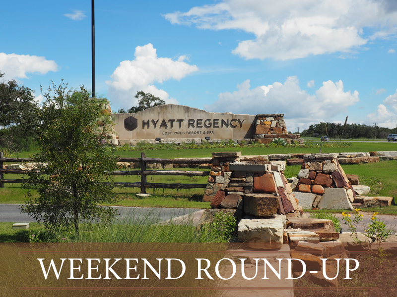 Weekend Round-Up 8.27.16